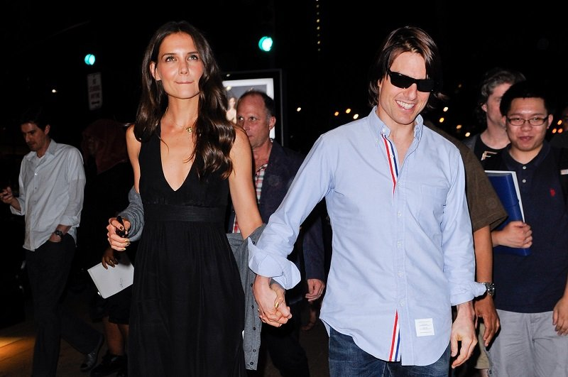 Katie Holmes and Tom Cruise on August 8, 2011 in New York City | Photo: Getty Images