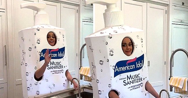 Katy Perry Dresses up as Hand Sanitizer Bottle and Shares Fresh 'American Idol' Update