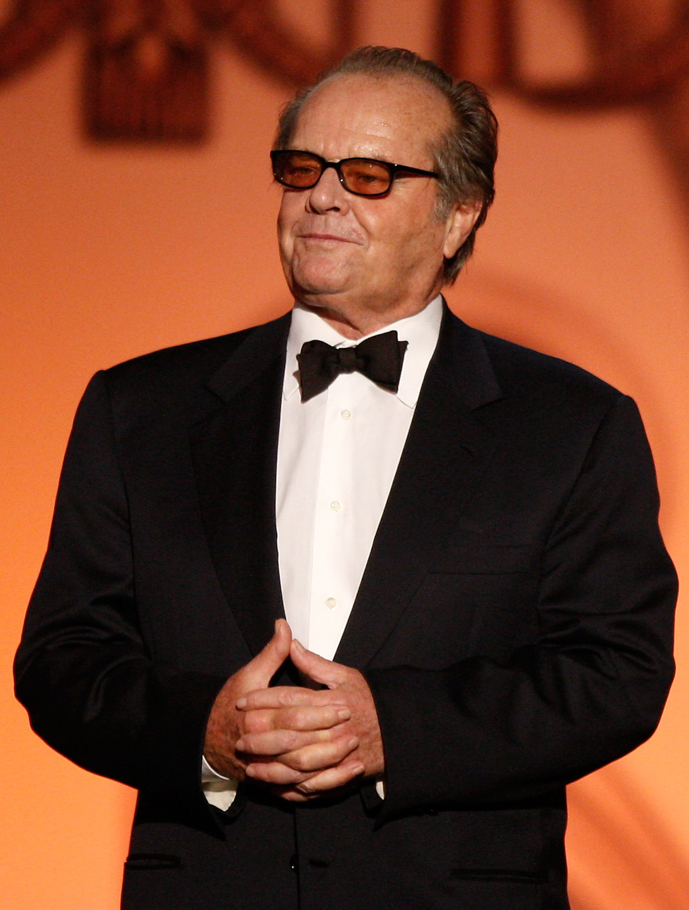Jack Nicholson speaks onstage during the AFI Life Achievement Award: A Tribute to Michael Douglas at Sony Pictures Studios on June 11, 2009, in Culver City, California. | Source: Getty Images.