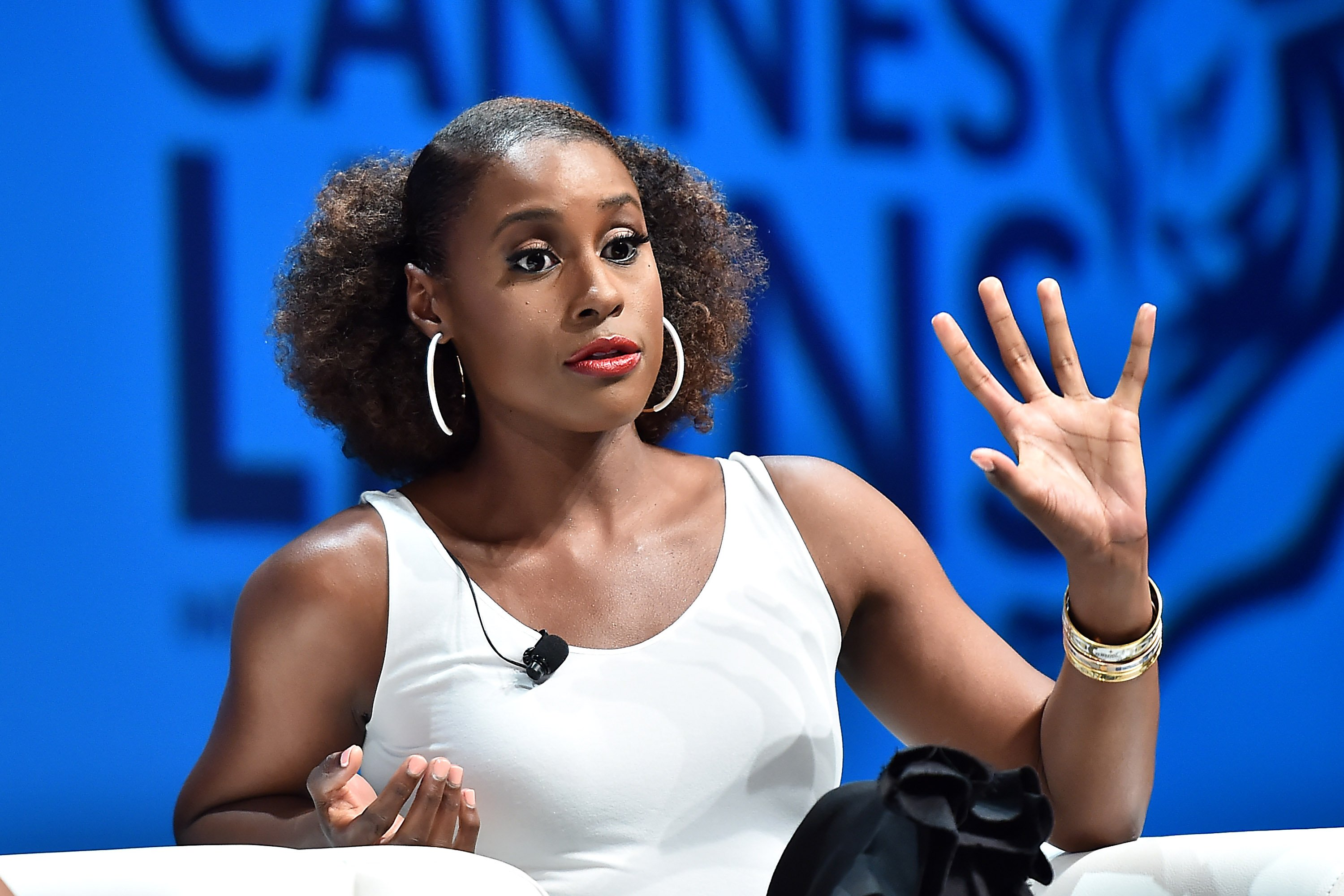 Issa Rae at the Cannes Lions Festival 2018 on June 22, 2018 in Cannes, France | Photo: Getty Images