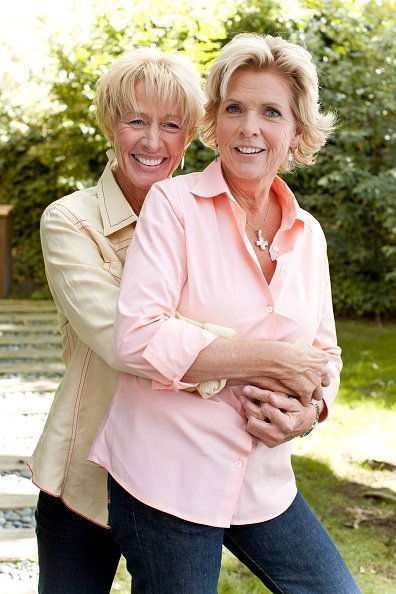 Meredith Baxter with partner Nancy Locke | Photo: Getty Images