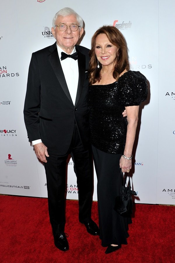 Phil Donahue and Marlo Thomas at the Beverly Wilshire Four Seasons Hotel on May 19, 2019 in Beverly Hills, California | Source: Getty Images
