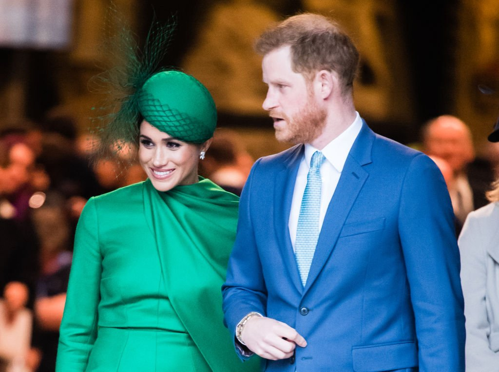 Prince Harry and Meghan Markle at the Commonwealth Day Service 2020 on March 09, 2020 in London, England | Photo: Getty Images