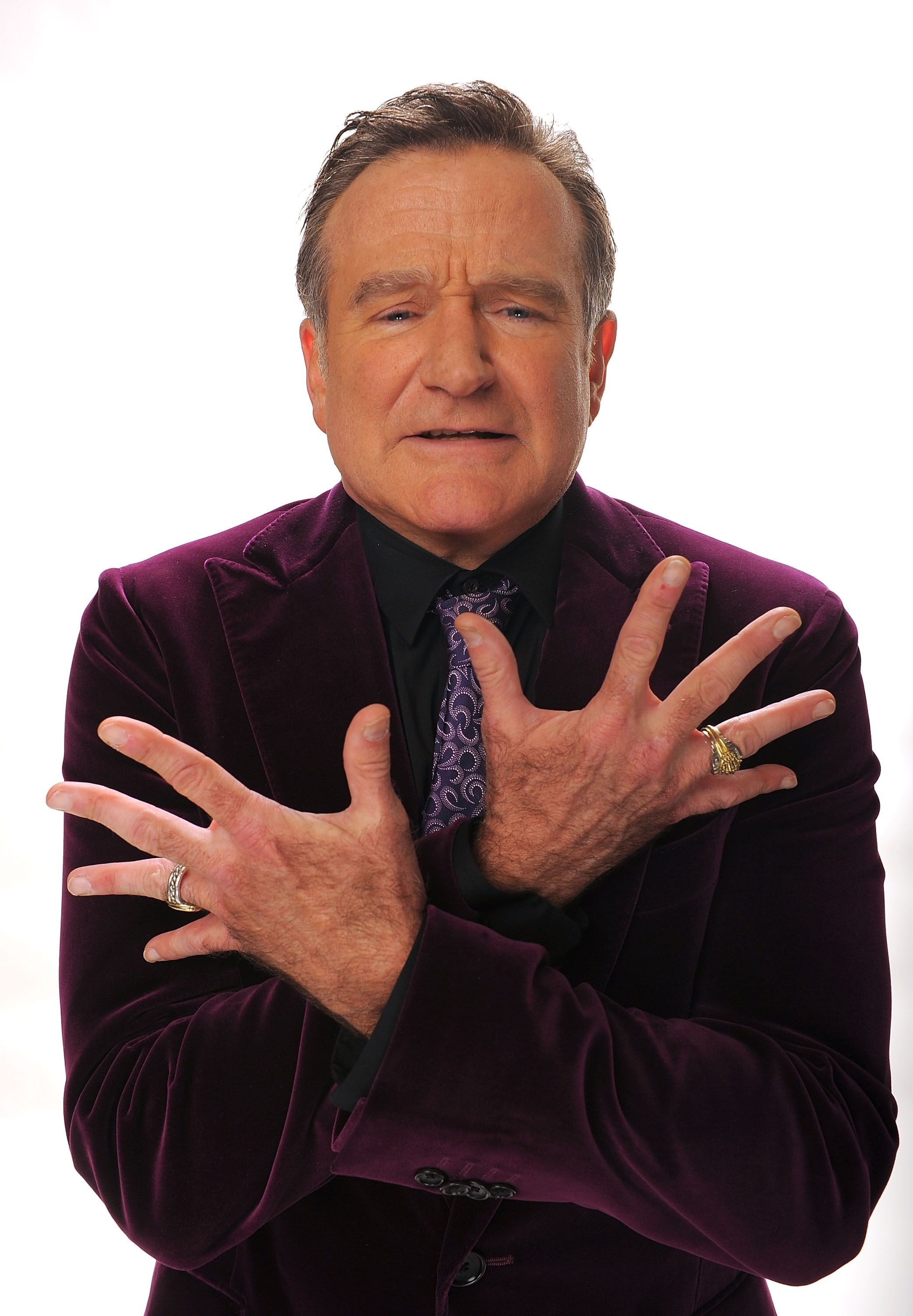 Actor Robin Williams poses for a portrait during the 35th Annual People's Choice Awards. | Source: Getty Images