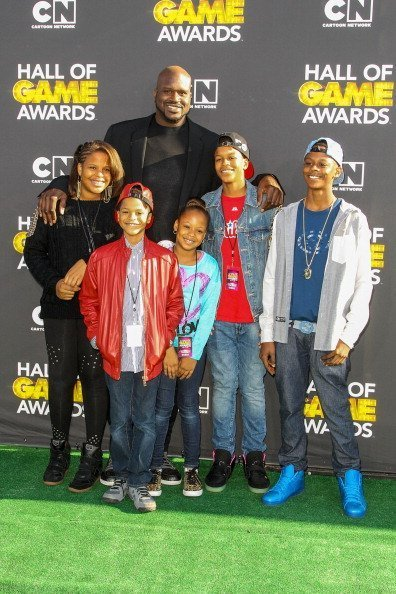 """The O'Neals at the 3rd Annual Cartoon Network's """"Hall Of Game"""" Awards on February 9, 2013 