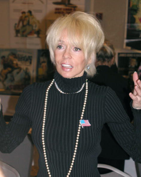 Joey Heatherton at the Hollywood Collectors and Celebrity Show October 7, 2001 in Los Angeles, CA. | Photo: Getty Images
