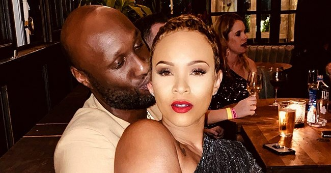 Lamar Odom's Fiancée Sabrina Parr Flaunts Curves in Skimpy Two-Piece (Photo)