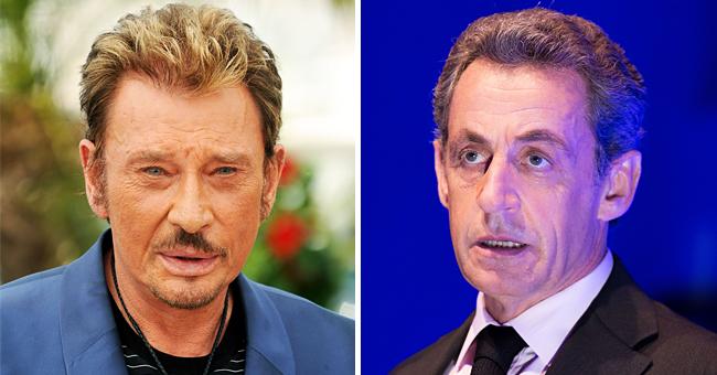 Le jour où Johnny Hallyday a mis la pression sur Nicolas Sarkozy