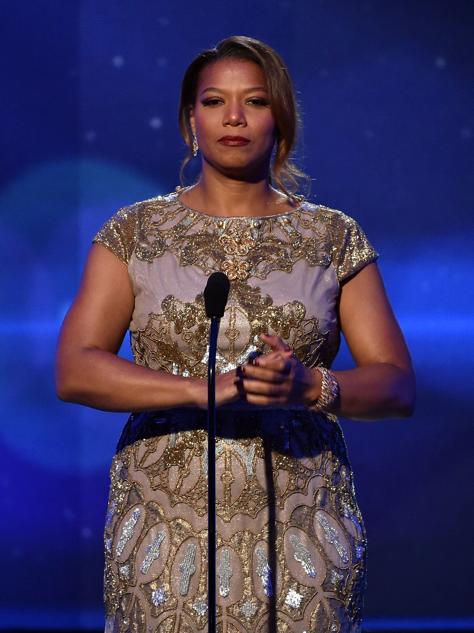Host Queen Latifah speaks onstage during the 18th Annual Hollywood Film Awards at The Palladium | Getty Images