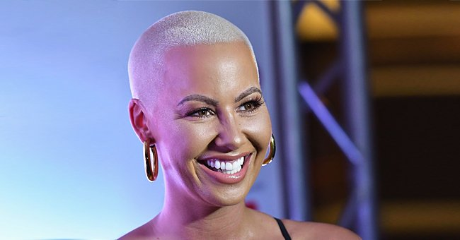 Here's How Amber Rose & Her Kids Celebrated with Boyfriend Alexander 'AE' Edwards on His B-Day