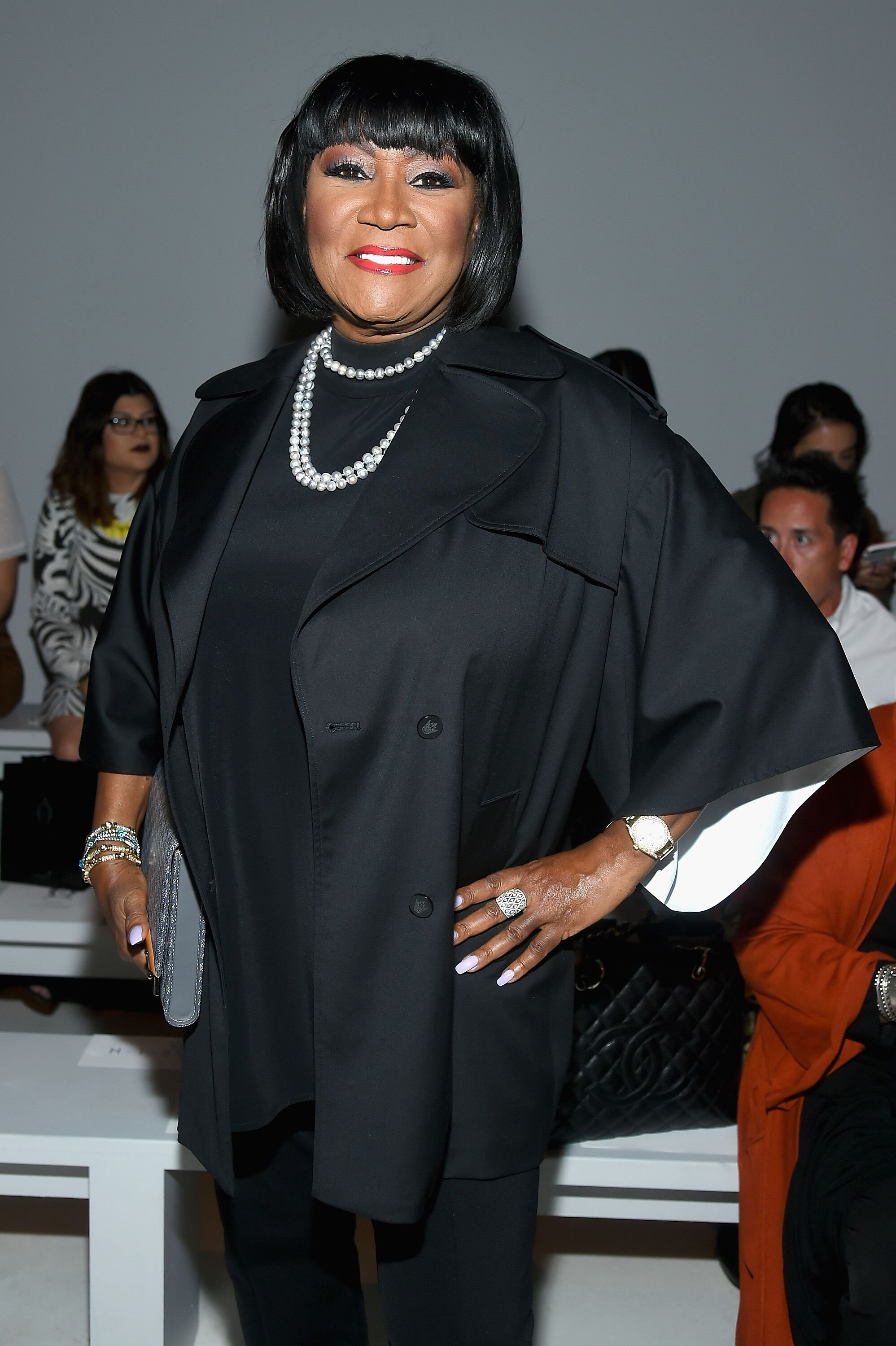 Patti LaBelle attends the Zang Toi fashion show during New York Fashion Week: The Shows at Gallery 3, Skylight Clarkson Sq on September 13, 2017 in New York City. | Source: Getty Images