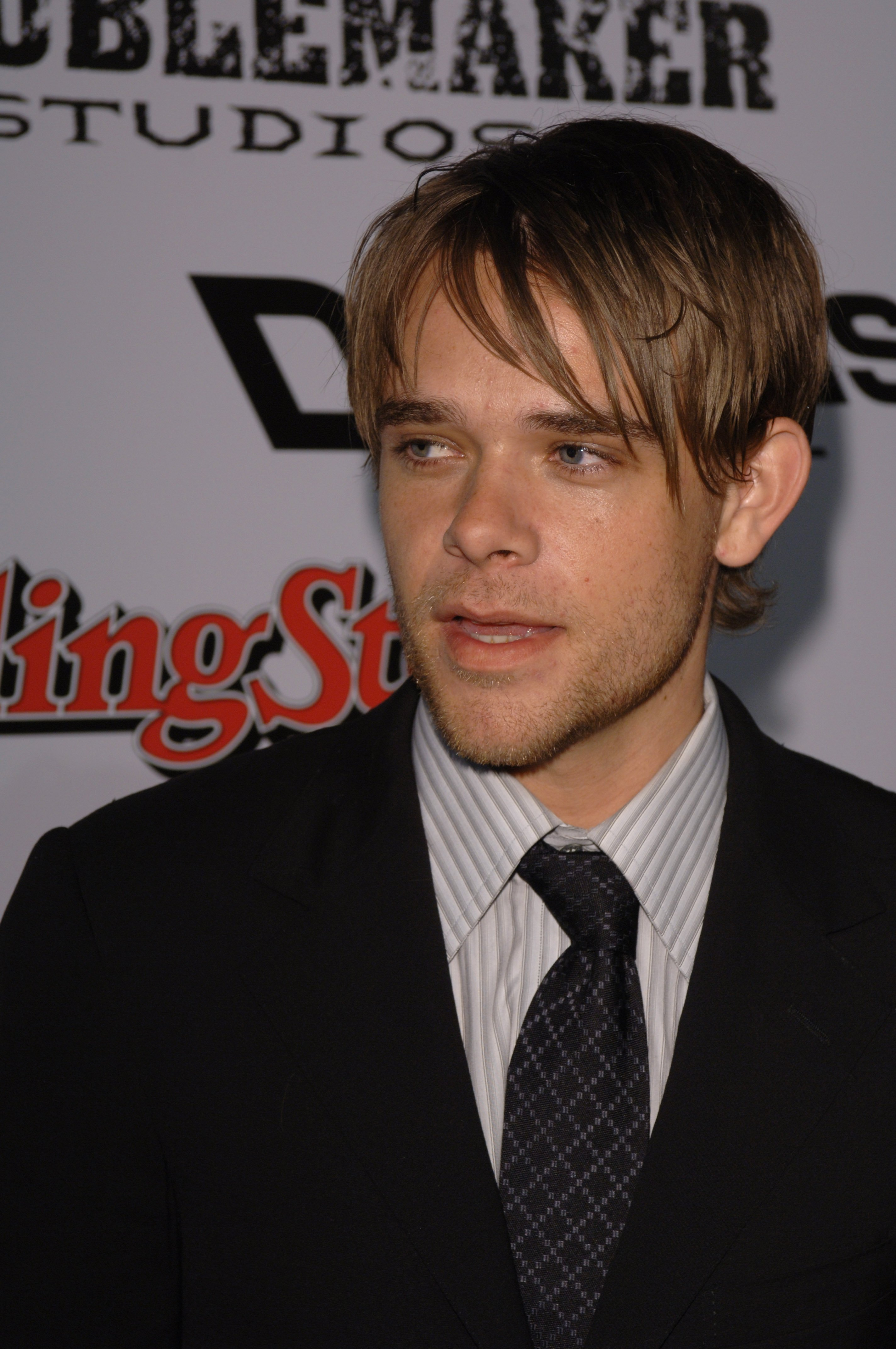 """Nick Stahl at the premiere of his new movie """"Sin City"""" on March 28, 2005 in Los Angeles, California 