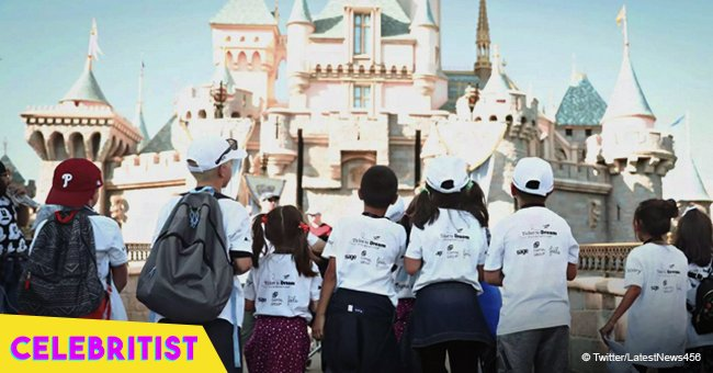 'Best day ever,' 350 foster children reunite with siblings for a special visit to Disneyland