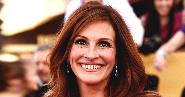Julia Roberts Shares New Photo of Her Teen Son Jumping off a High Cliff into a Lake