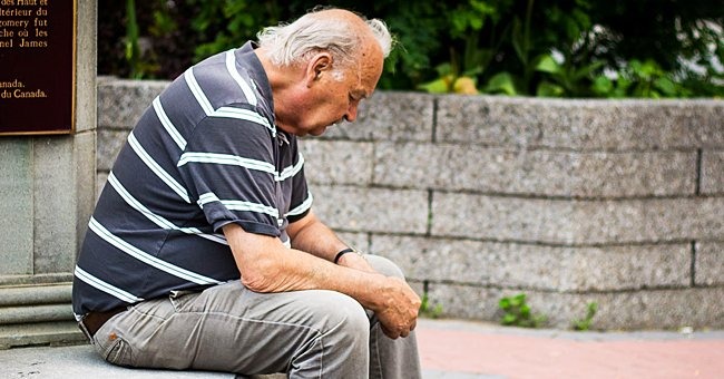 Daily Joke: Man Sees an Elderly Gentleman Crying His Eyes Out