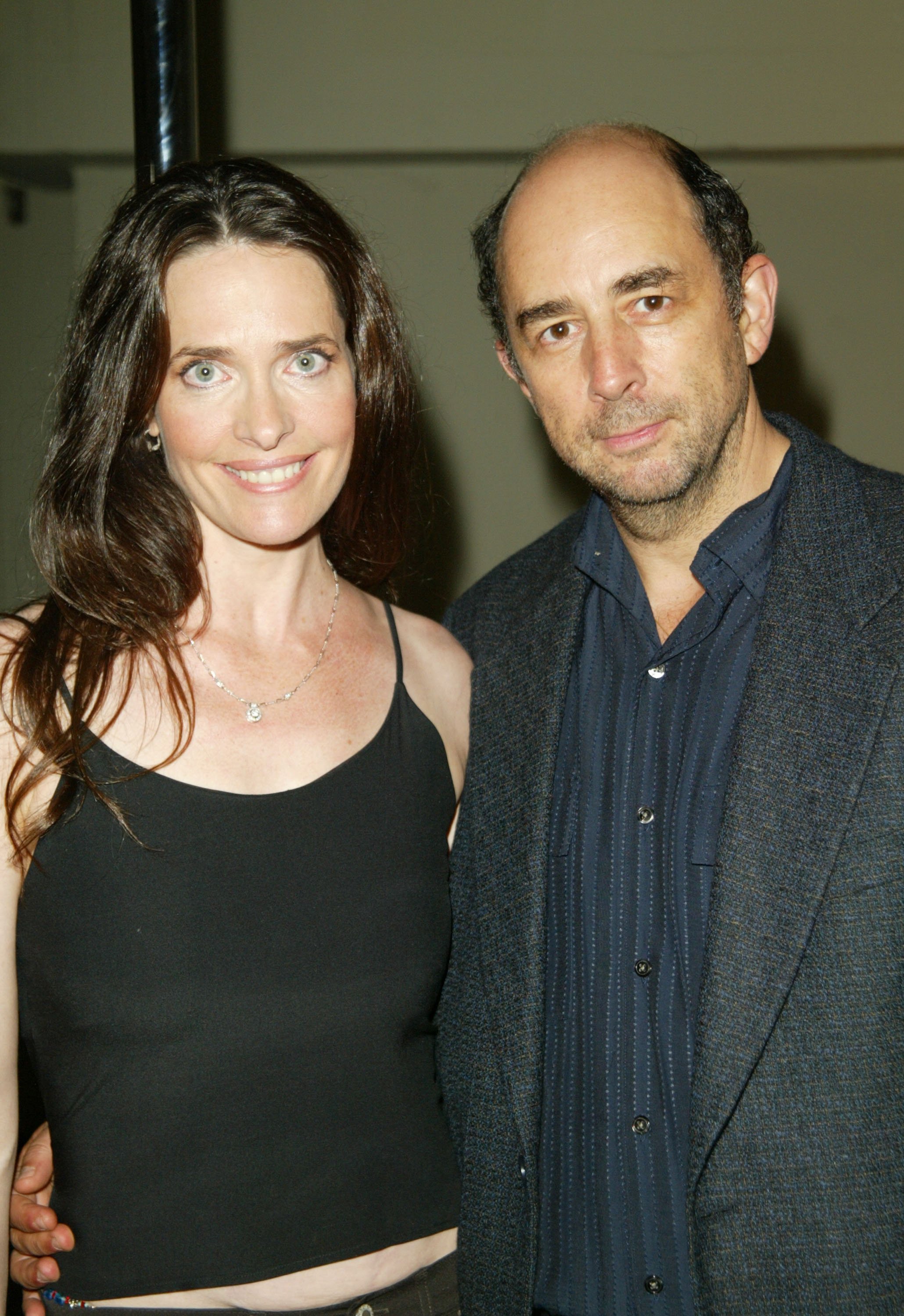 Sheila Kelley and Richard Schiff attend the opening party for Kelley's Factor Studio in Los Angeles, California on June 14, 2003 | Photo: Getty Images