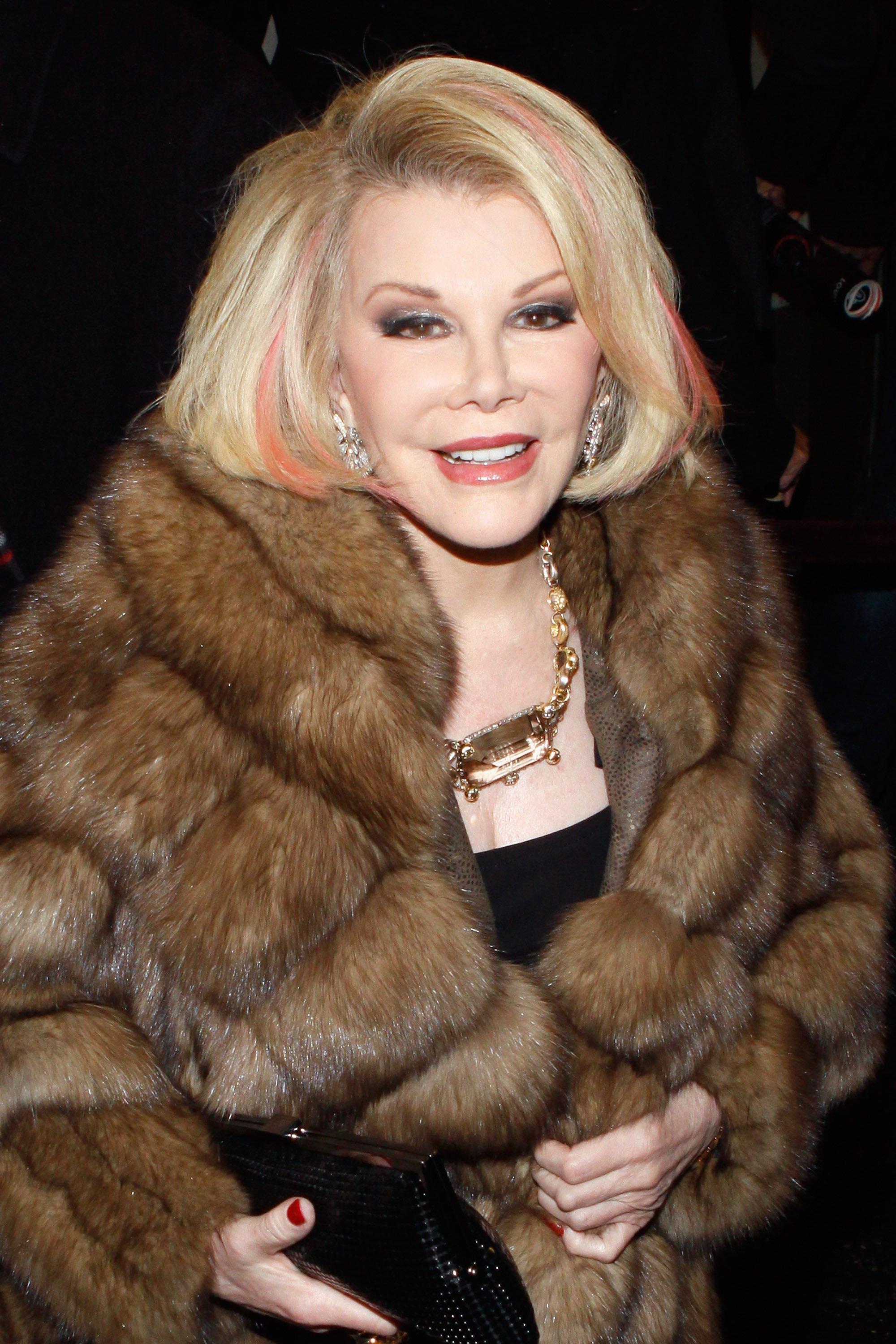"Joan Rivers attends ""The Best Man"" Broadway Opening night in New York on April 1, 2012 