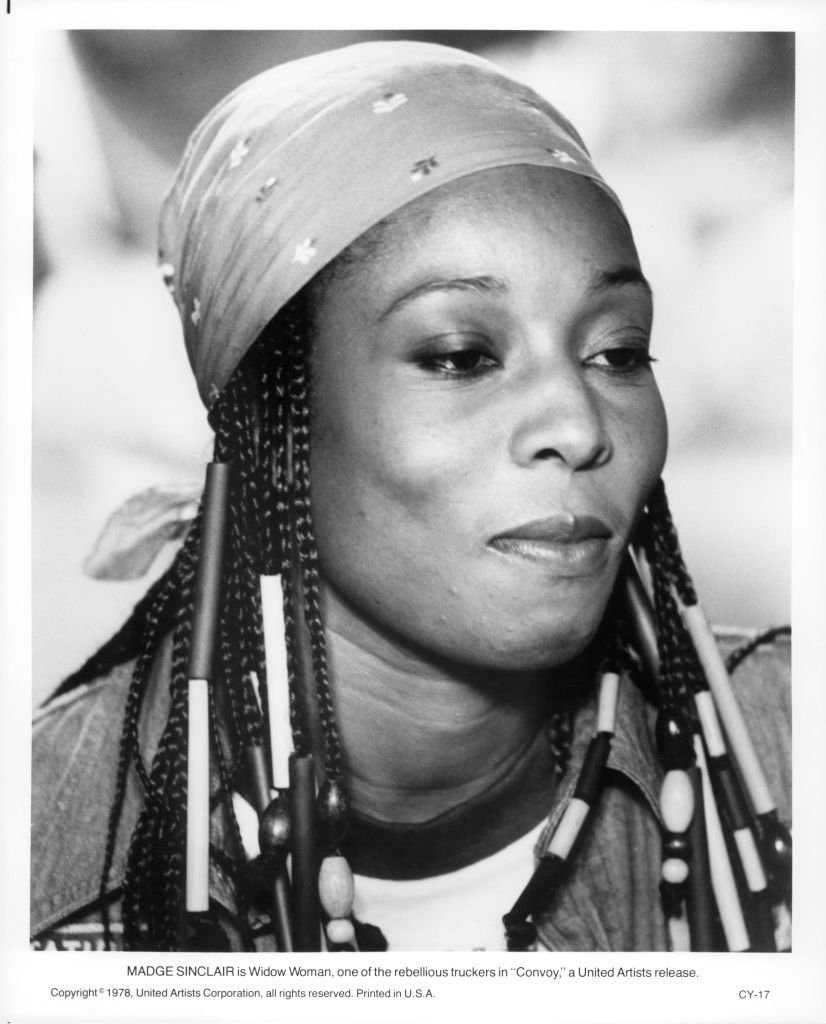 Madge Sinclair in a scene from the film 'Convoy' in 1978   Photo: Getty Images