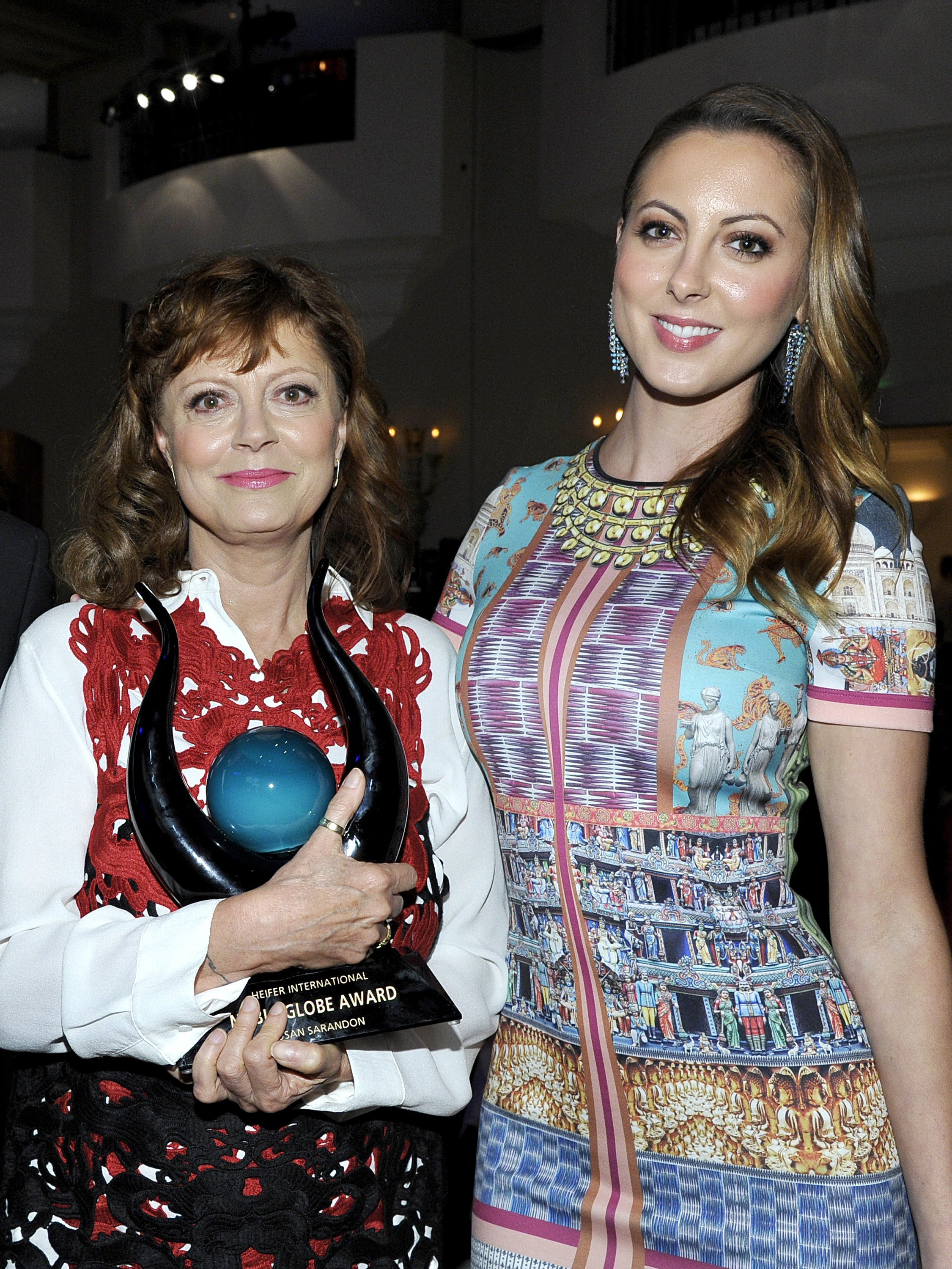 """Susan Sarandon and Eva Amurri Martino at 2nd Annual """"Beyond Hunger: A Place at the Table"""" to Help End World Hunger and Poverty on September 19, 2013 