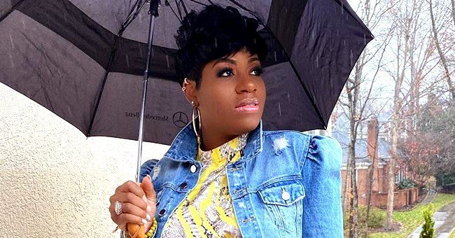 Fantasia Barrino Marks Her 7th Month of Pregnancy by Showing Her Baby Bump in a Floral Dress