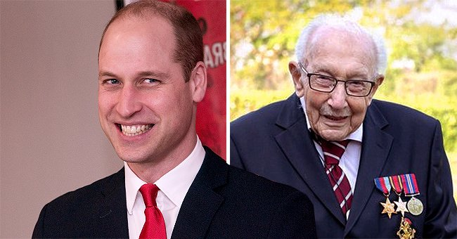 99-Year-Old WWII Vet Who Raised Millions for Charity by Walking Laps Gushes About Prince William