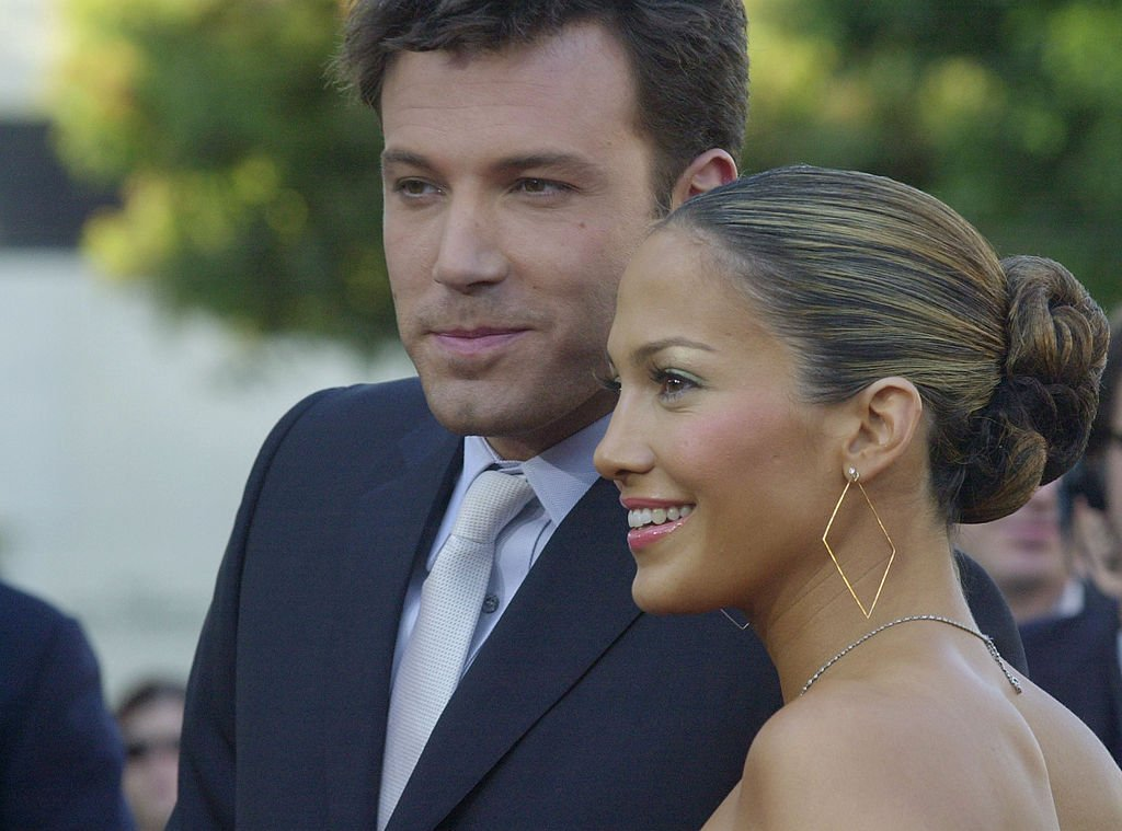 Jennifer Lopez and Ben Affleck at the Daredevil premiere, 2003 | Source: Getty Images