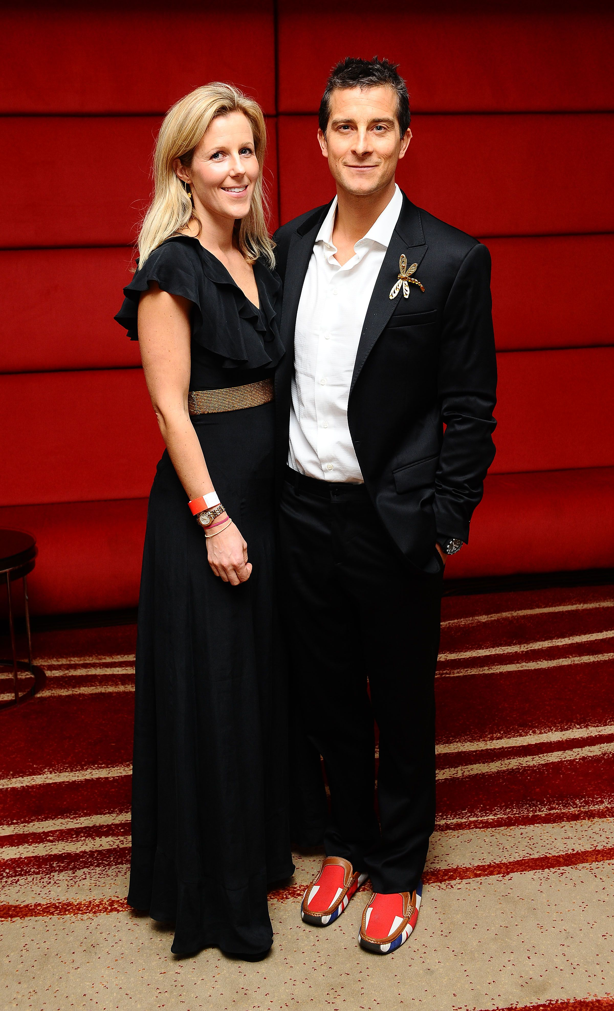 Bear Grylls and wife Shara at the Global Angel Awards in London | Source: Getty Images