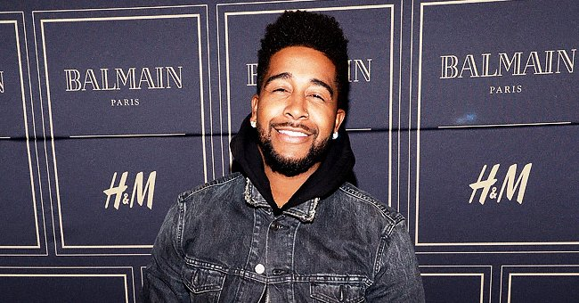 Omarion Shows Handsome Son Megaa & Daughter A'mei Looking Serious While Visiting Their Grandma