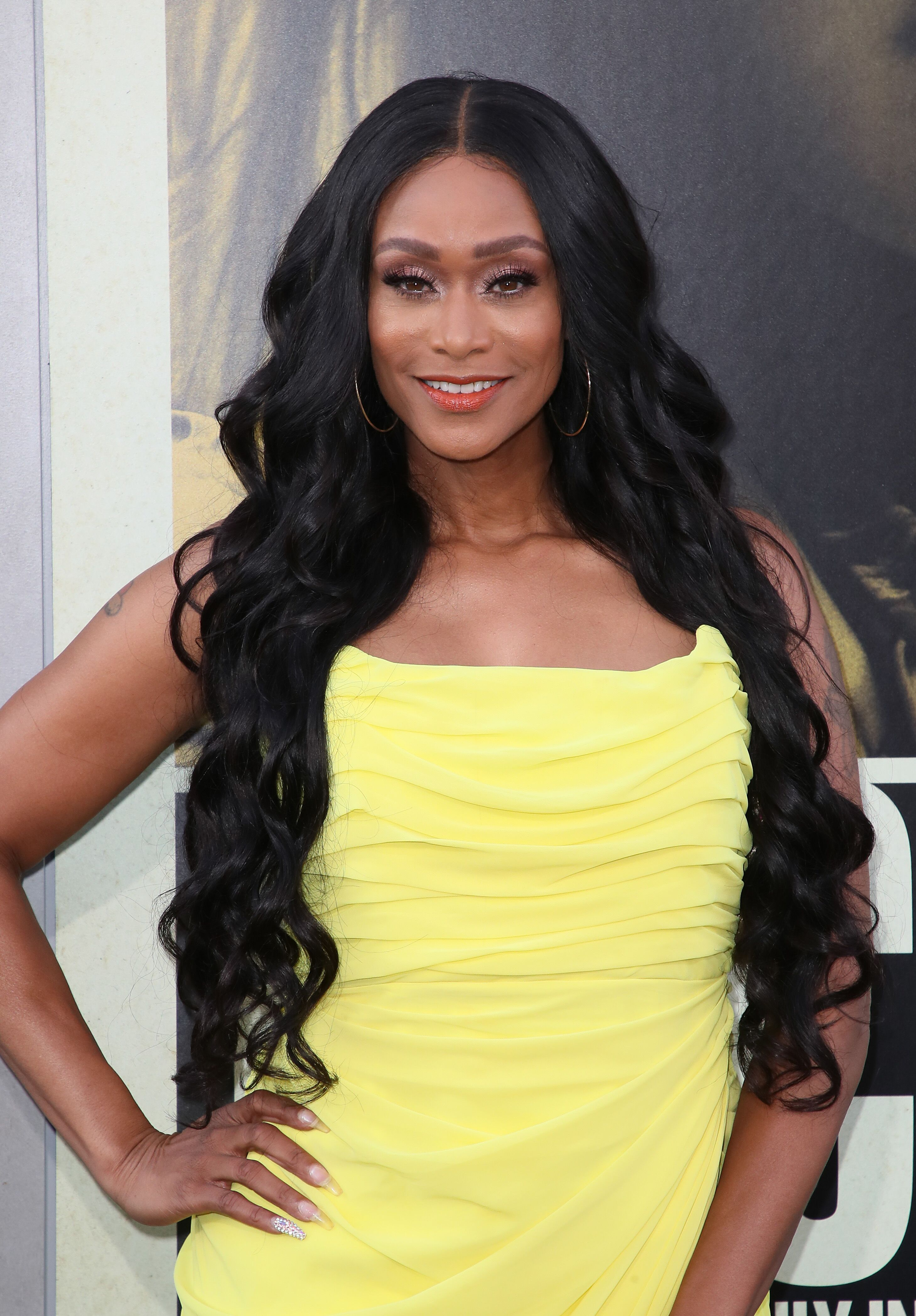 """Tami Roman attends the premiere of Warner Bros Pictures' """"The Kitchen"""" at TCL Chinese Theatre on August 05, 2019 