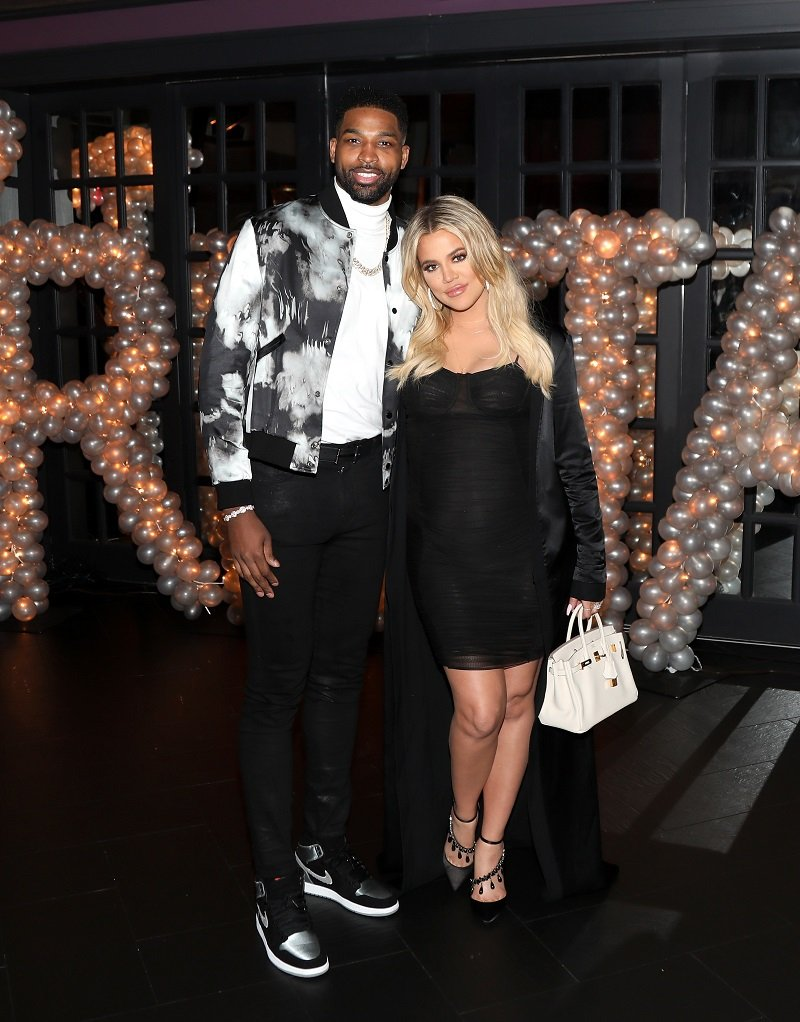 Tristan Thompson and Khloé Kardashian on March 10, 2018 in Los Angeles, California | Photo: Getty Images