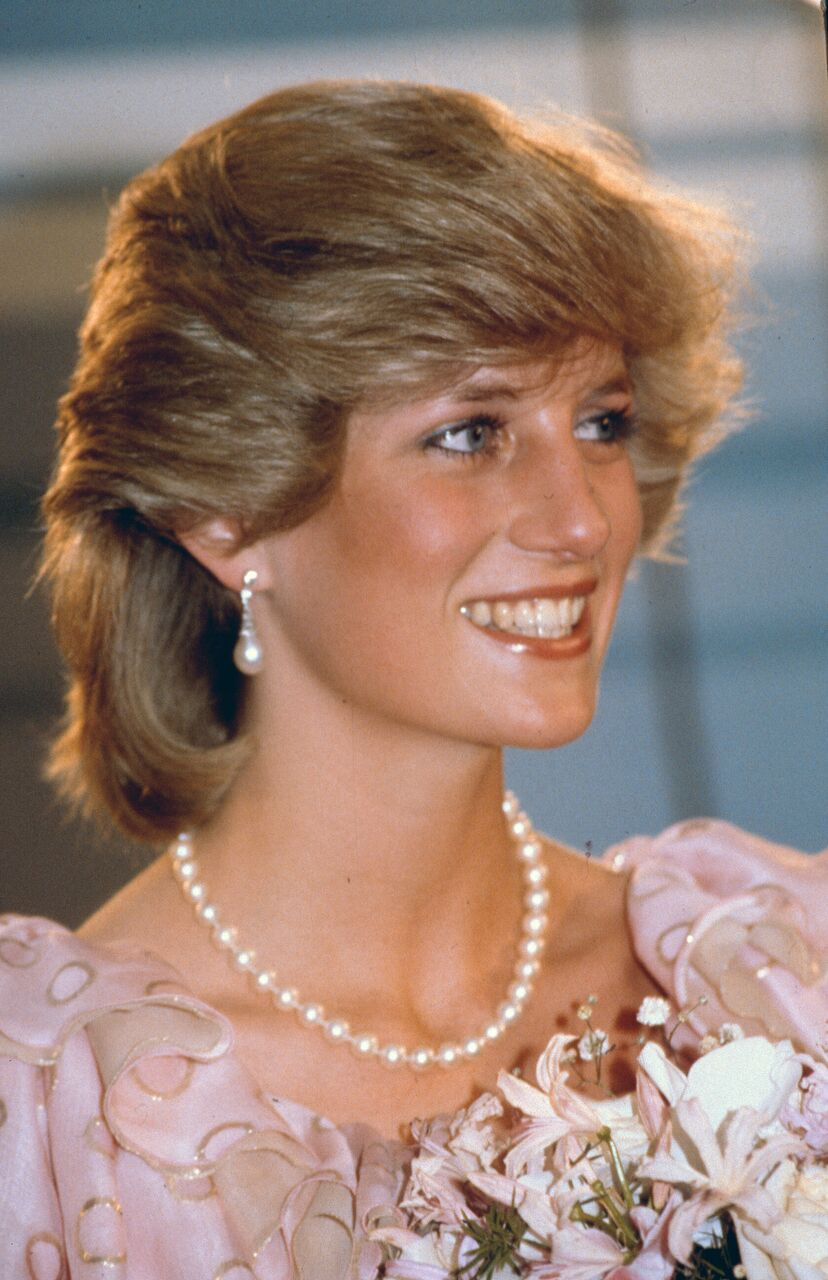 Princess Diana at a gala concert during a tour of Australia. | Source: Getty Images
