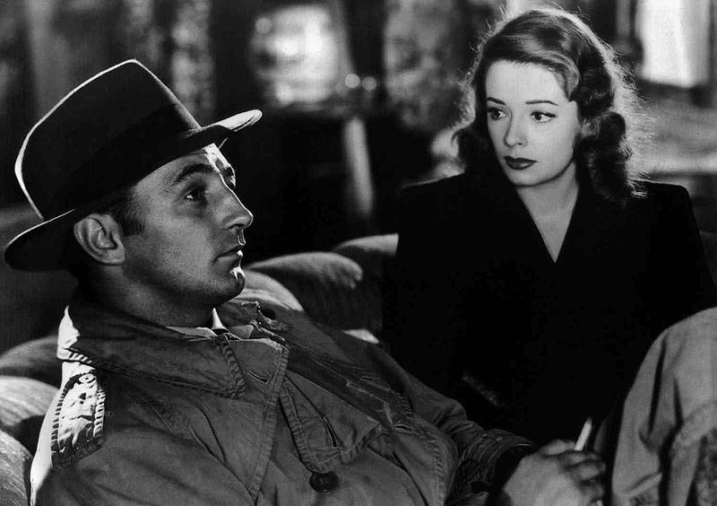 """Robert Mitchum and Jane Greer in """"Out of the Past"""" (1947). 