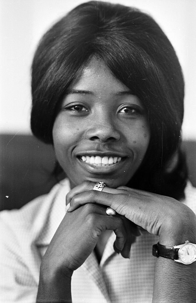 """Millie Small, poses for a portrait at 16-years-old after scoring a hit with her song """"My Boy Lollipop"""" on October 5, 1965   Source Michael Stroud/Express/Getty Images"""