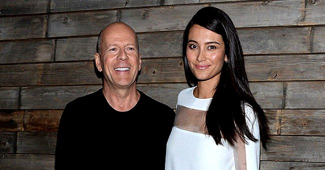 Bruce Willis Reunites with Wife Emma Heming and Kids after Quarantining with Ex Demi Moore