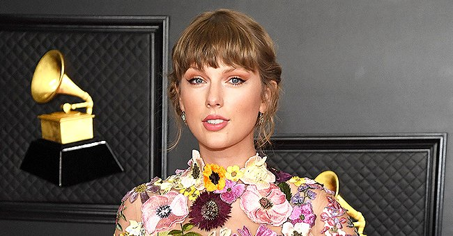 Taylor Swift Looks like a Fairy as She Dons a Gorgeous Floral Gown at the 2021 Grammys
