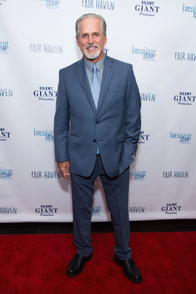 "Gregory Harrison attends a screening of ""Fair Haven"" in Santa Monica, California on March 3, 2017 