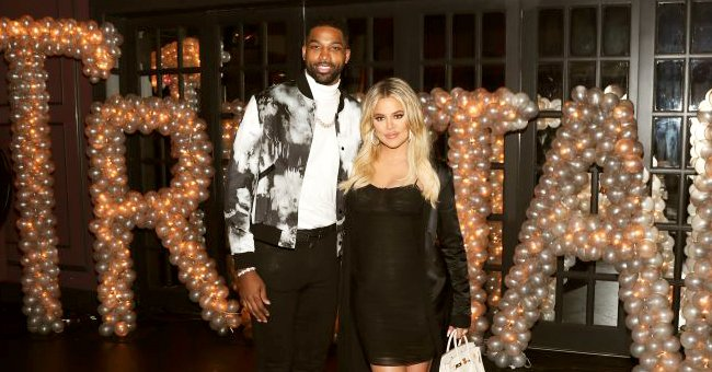 ET Online: Khloé Kardashian & Tristan Thompson Continue to Love Each Other While He's in Boston