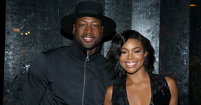 A picture of Dwyane Wade and his gorgeous wife, Gabrielle Union | Photo: Getty Images