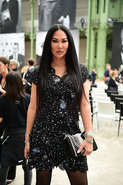"Kimora Lee Simmons at the ""Karl for Ever"" Tribute to Karl Lagerfeld at Grand Palais on June 20, 2019 in Paris, France 