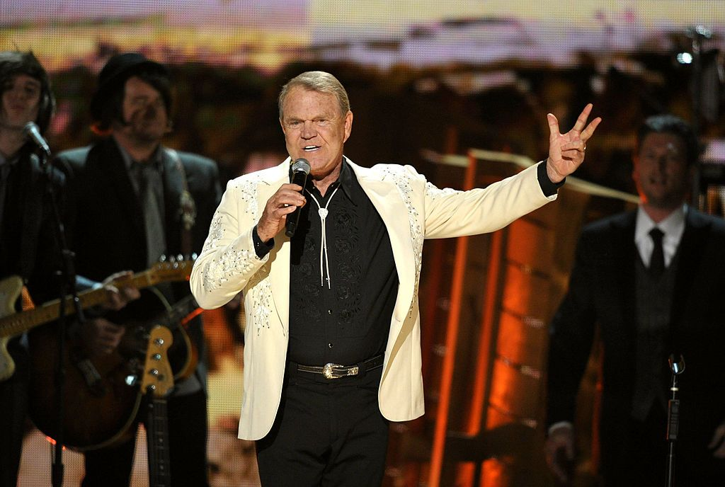 Glen Campbell onstage at the 54th Annual GRAMMY Awards in 2012 | Source: Getty Images