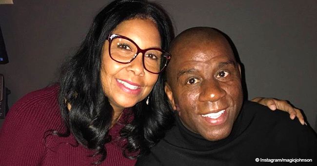 Magic Johnson & Wife Share Photos with Grandkids after They Celebrated 'Grandparents Day' Together