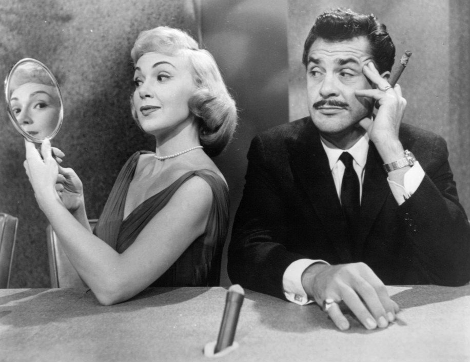 """Promotional photo of Ernie Kovacs and Edie Adams from his television show """"Take a Good Look."""" 