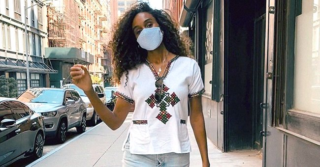 Tyler Perry's Ex Gelila Bekele Flashes a Smile While Posing in a White T-Shirt in a New Video