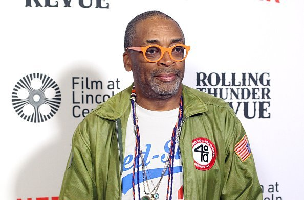 "Director Spike Lee attends the ""Rolling Thunder Revue: A Bob Dylan Story By Martin Scorsese"" New York screening.  