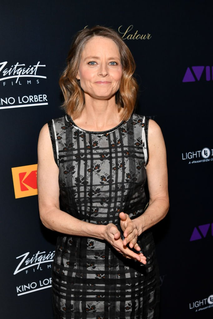 Jodie Foster at Harmony Gold Theater on April 09, 2019 in Los Angeles, California | Source: Getty Images