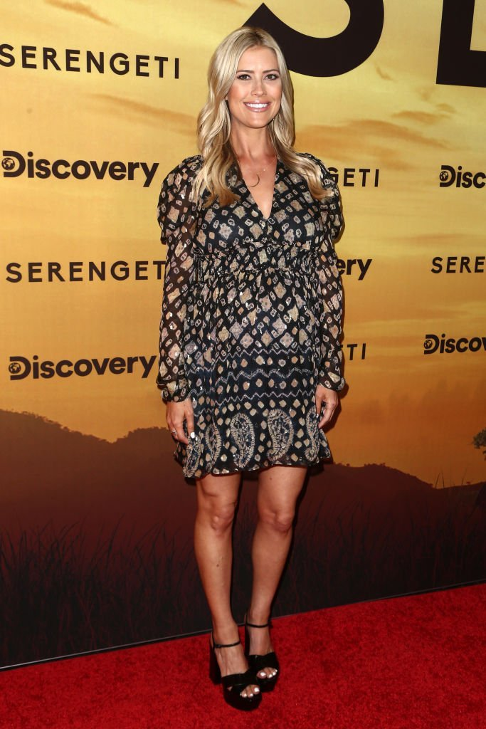 "Christina Anstead attends the Los Angeles Special Screening Of Discovery's ""Serengeti"" at Wallis Annenberg Center for the Performing Arts 