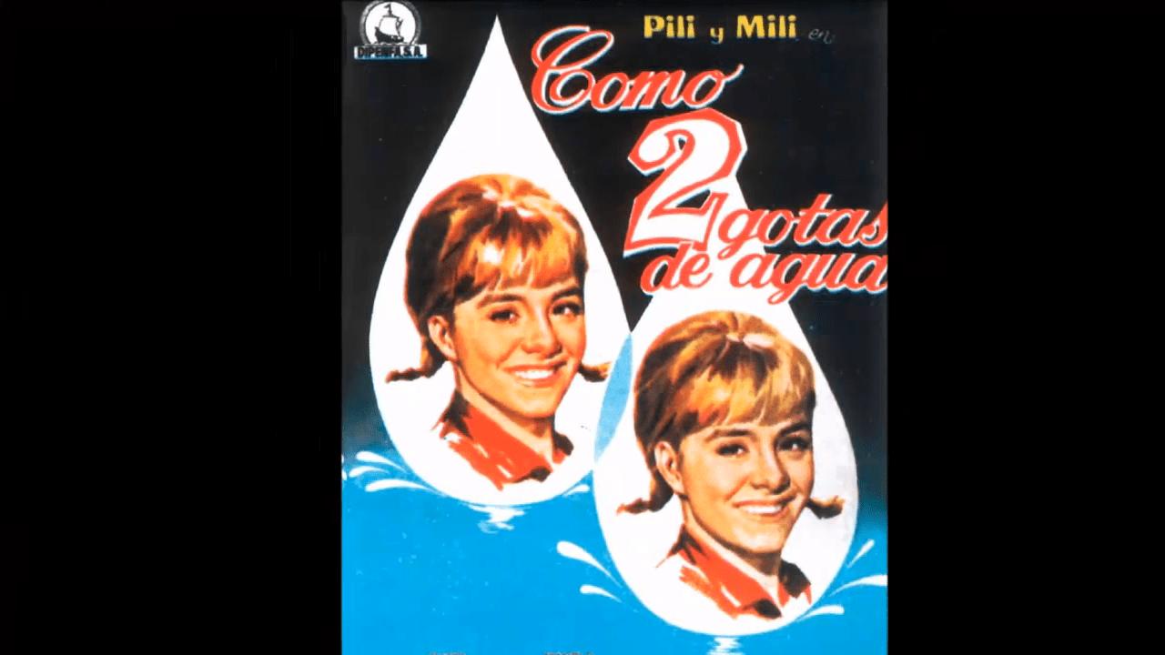 """""""Como dos gotas de agua"""" fue pionera en su género │Imagen tomada de: YouTube / ALEJANDRO ZUNIGA RECORDANDO"""