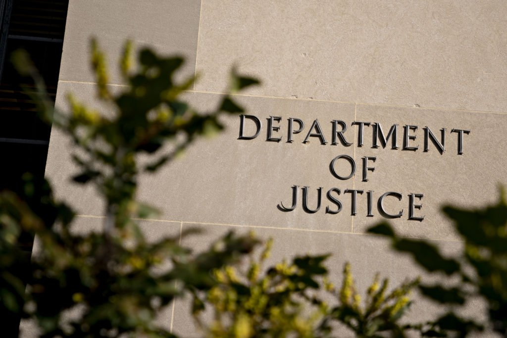 The U.S. Department of Justice (DOJ) headquarters stands in Washington, D.C., U.S, on Wednesday, Feb. 19, 2020 | Photo: Getty Images