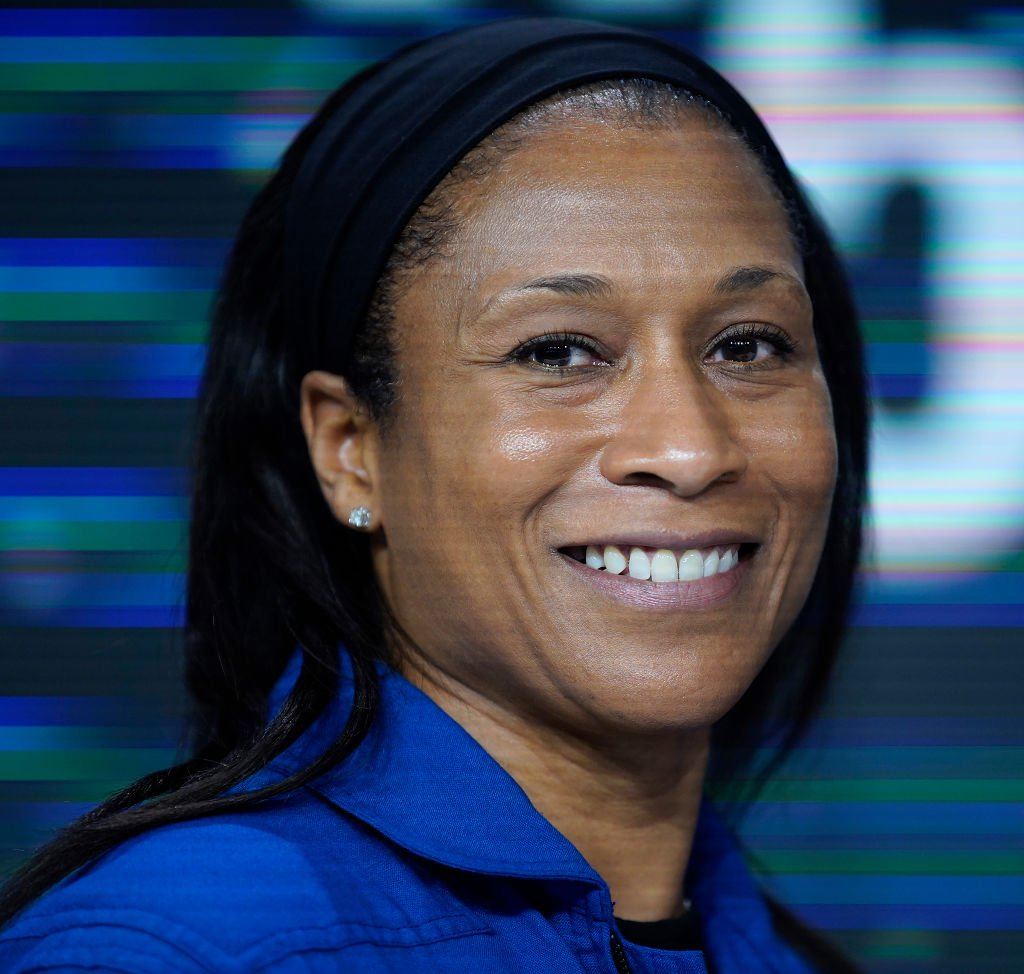 Astronaut Jeanette Epps poses as NASA rang the closing bell in July 2019 | Photo: Getty Images