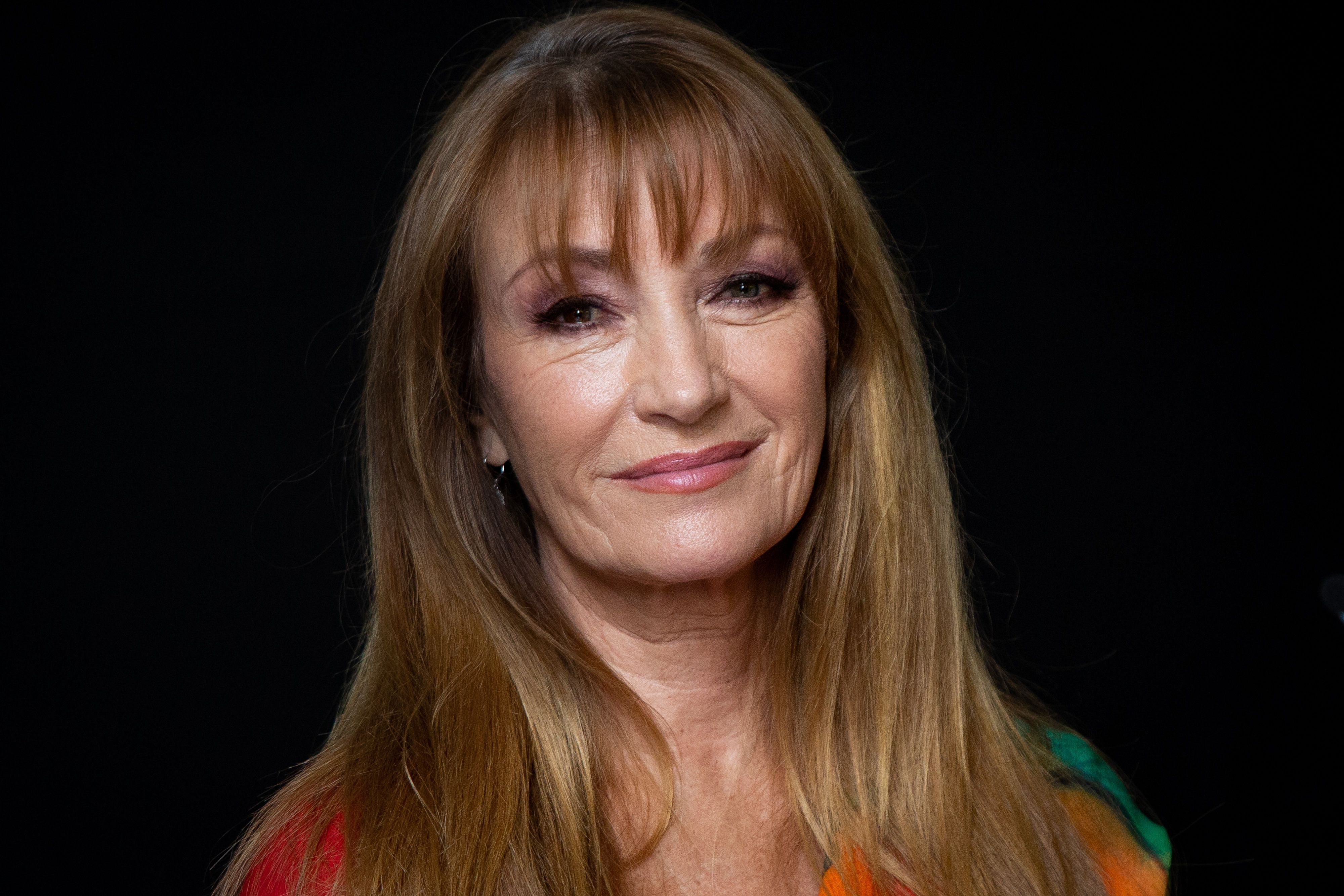 Jane Seymour at 'Glow & Darkness' photocall in Spain on October 26, 2020 | Getty Images